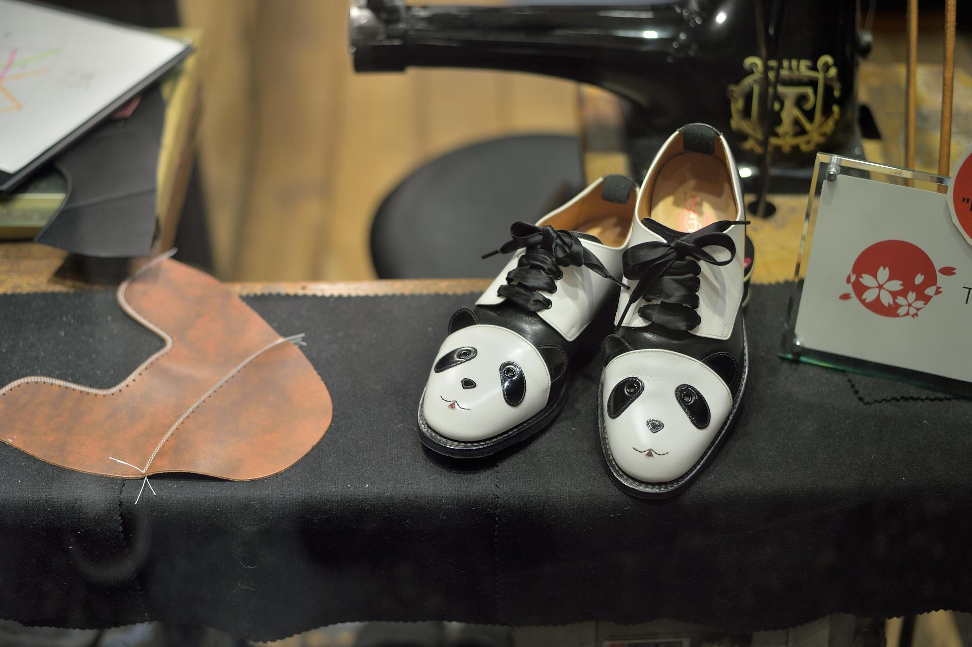 Pandabär-Schuhe